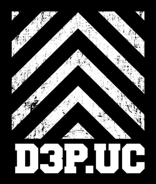 ユニコーン「D3P.UC」ロゴ